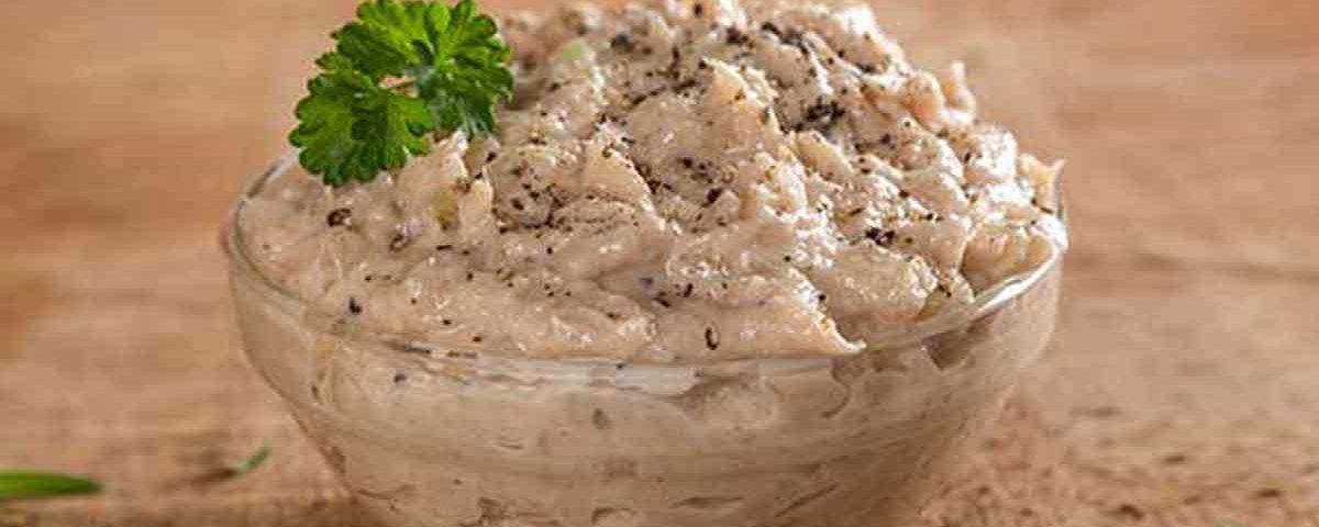 Pasta de ton cu ceapa